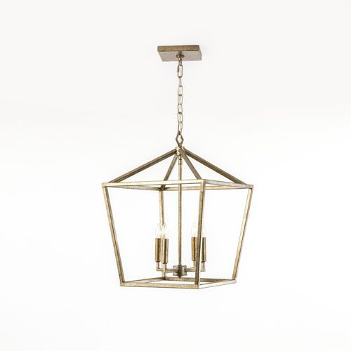 Kenwood Vintage Gold Four Light Lantern Pendant 251 First Lantern Pendant Lighting Ceiling