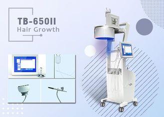 No Pain Diode Laser Hair Growth Machine For Hair Loss Treatment Three Wavelengths