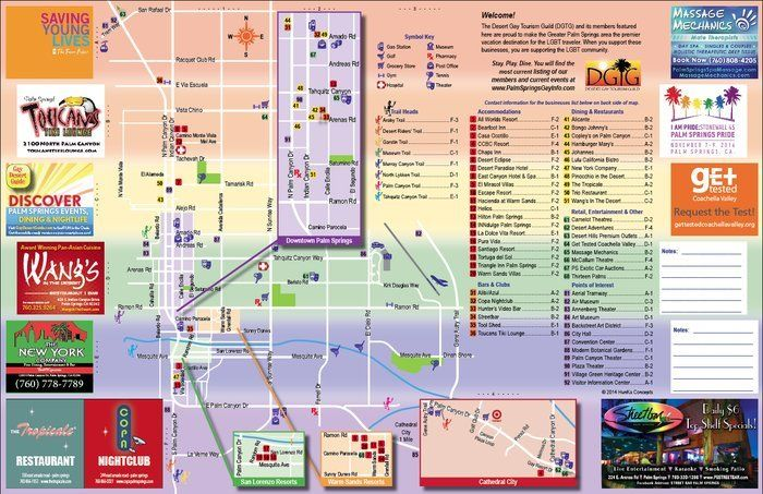 New Map of Gay Palm Springs Debuts
