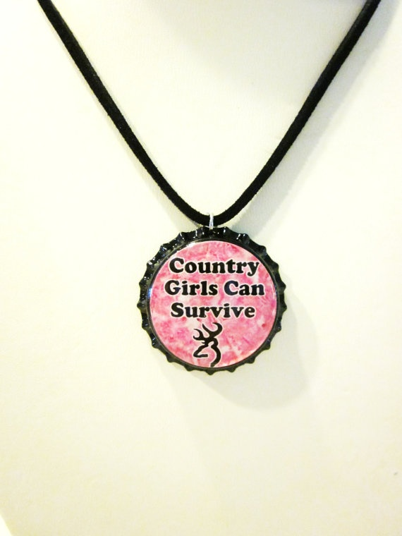 camo necklacePink Camo, Girls Generation, Camo Necklaces, Bottle Cap, Country Girls, Girls Hunting, Born Country, Camo Girls