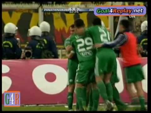 Παναθηναικος-Αρης 1-0  τελικος  ( Sebastian Leto )
