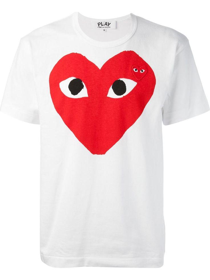 Comme Des Garçons Play T-shirt Imprimé Logo - Eraldo - Farfetch.com