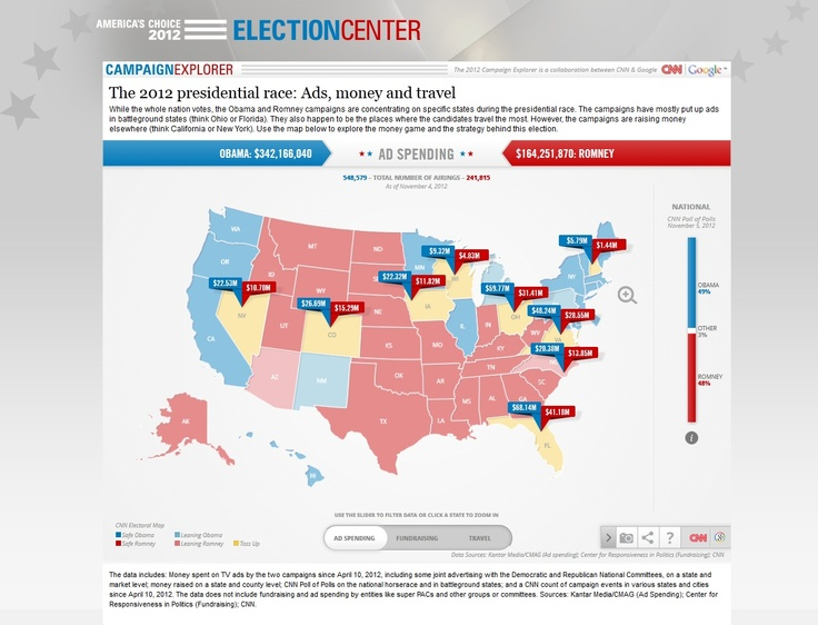 The Best Ideas About Interactive Electoral Map On Pinterest - Interactive us electoral map