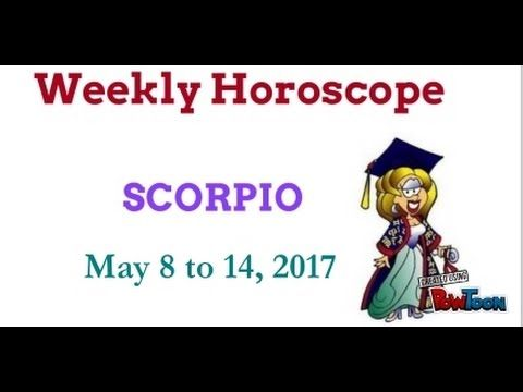 Scorpio Weekly Horoscope - May 8 to 14, 2017. Astrology forecast for Sco...