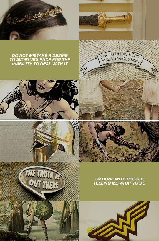 justice league aesthetics: diana prince  #wonderwoman