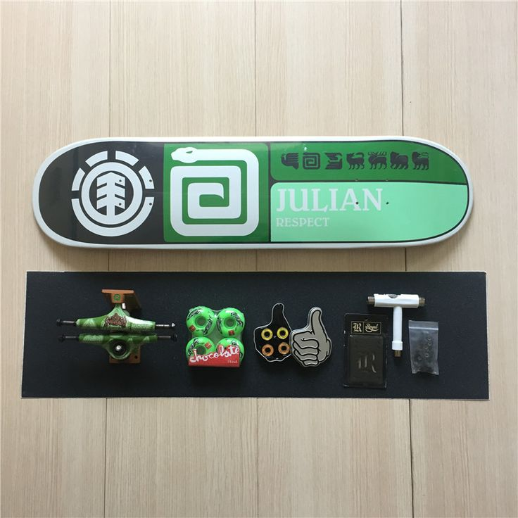 Professional Skateboard Complete Set Patins Deck Trucks Wheels & Bearings with Skateboard Accessories