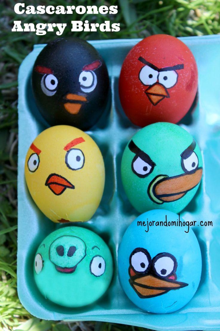17 mejores ideas sobre cascarones decorados en pinterest - Huevos decorados de pascua ...