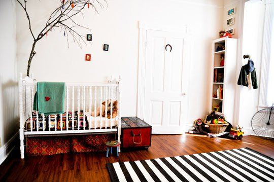 This whole article is great. How To Get the Look: Scandinavian-Style Kids Bedroom