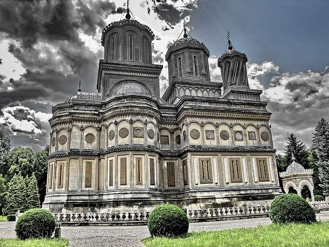 Curtea de Arges church in Romania