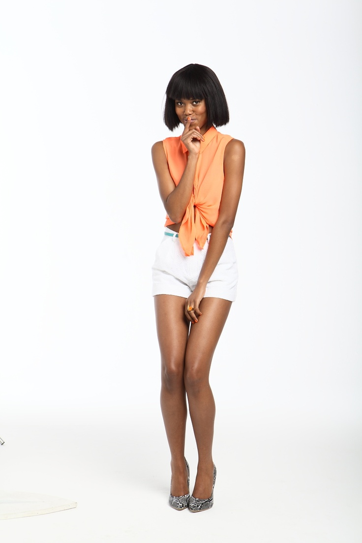 Photographer: Gavin Kleinschmidt / Stylist: Alexis Chaffe / Model: Boledi from Boss Models/ Make Up: Jane Ann Wilson