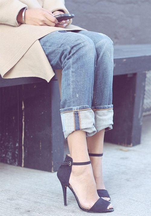 Flat sandals? We'll take the high road.