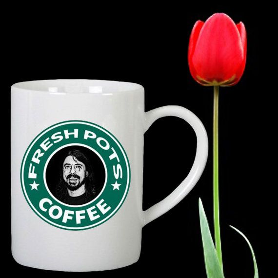 Fresh Pots Coffee design for mug by Mbelgedes on Etsy