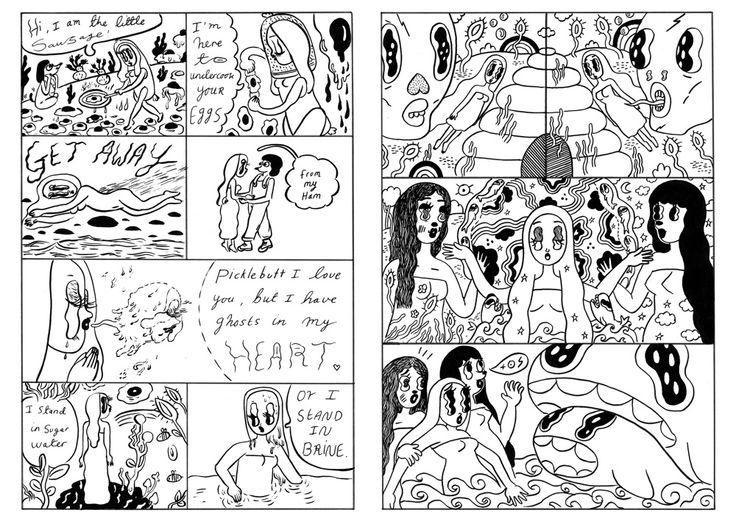 Self published Zines - Donya Todd Illustration