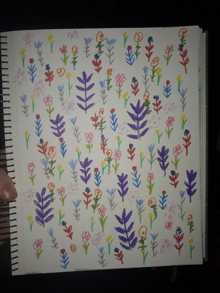 More floral sketches