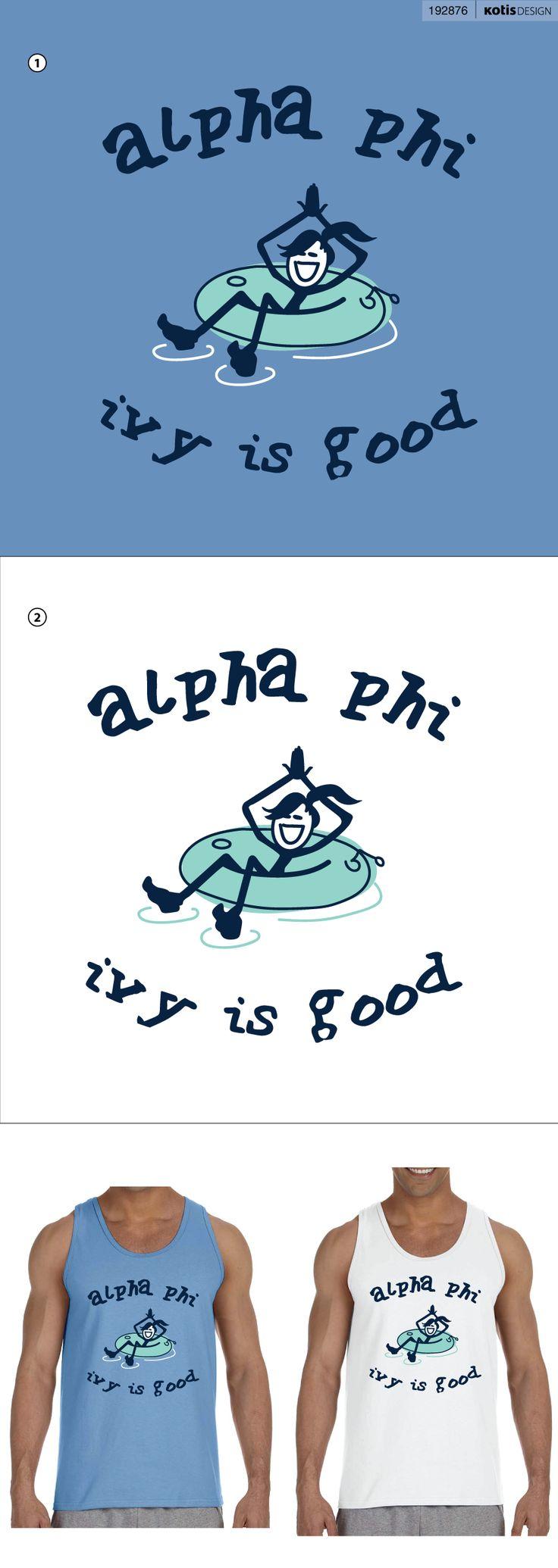 Alpha Phi - Sorority Clothing - Tank Top