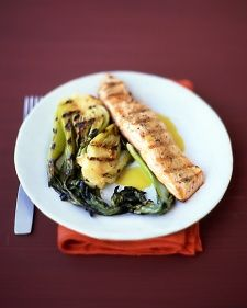 Grilled Salmon with Citrus Sauce Recipe