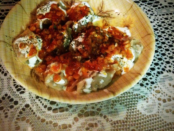 how to make mantu afghan dish