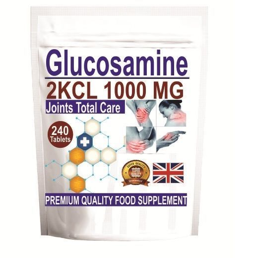 Premium Glucosamine Sulphate 1000mg Joints Pain Osteoarthritis Care 240 Tablets  #Nutratrends