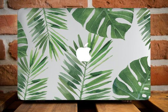Tropical Leaves MacBook 12 Case MacBook par CreativeMacBookCases                                                                                                                                                      Plus