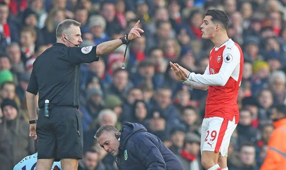 Arsene Wenger gives thoughts on Granit Xhaka - Arsenal star could now miss Chelsea clash   via Arsenal FC - Latest news gossip and videos http://ift.tt/2iRx8fI  Arsenal FC - Latest news gossip and videos IFTTT