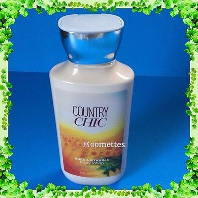New Bath Body Works Country Chic Lotion Shea Vitamin E Signature Collection