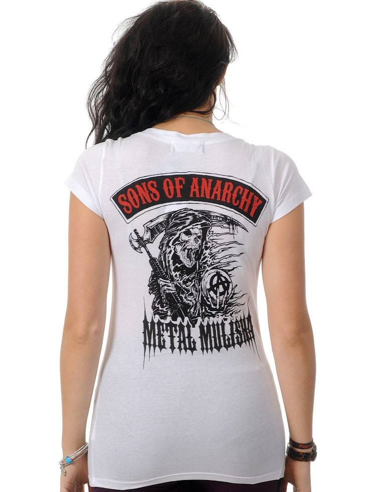 Metal Mulisha White Red Sons of Anarchy Sons of Anarchy SOA  https://www.fanprint.com/licenses/navy?ref=5750