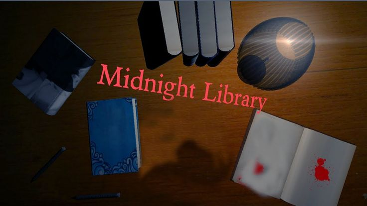 Midnight Library - Google Image Search is Scary, Free Indie Horror Game