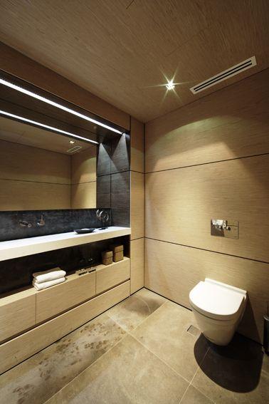 R House Powder Room - Bruce Stafford Architects