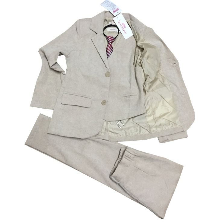 47.79$  Watch here - http://ali6j2.worldwells.pw/go.php?t=32736427696 - Boys wedding suit Jacket Vest and Trouser 3 pieces blazer suit for Boys Tuxedos Kids autumn clothing sets Page boy outfits 47.79$