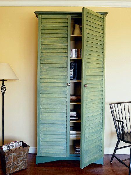 shutter cabinet