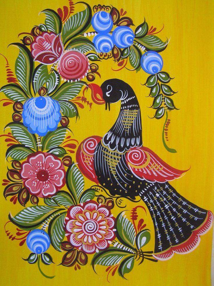 она картинки декоративно прикладное искусство птицы втором акте