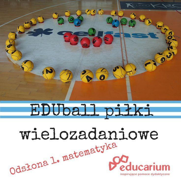 Zestaw dla nauczycieli wychowania fizycznego, dla anglistów, polonistów i matematyków. Jednym słowem EDUball. Sprawdź jego multizastosowania na http://www.educarium.pl/index.php/matematyka-aktywna-menu-zabawy-100/489-eduball-i-matematyka.html