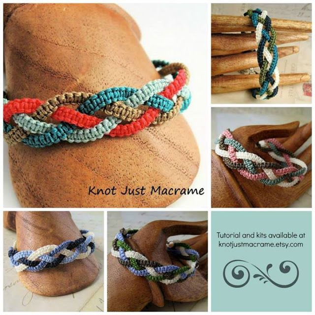 Micro Macrame Tutorials and Classes - Where the Heck Do I Start?!also  free eClass at CraftArtEdu.com - Micro Macrame 101.  It covers a few of the basics like what tools and materials you will need, some alternatives for pinning surfaces and an overview on cords.  Handy, basic information.