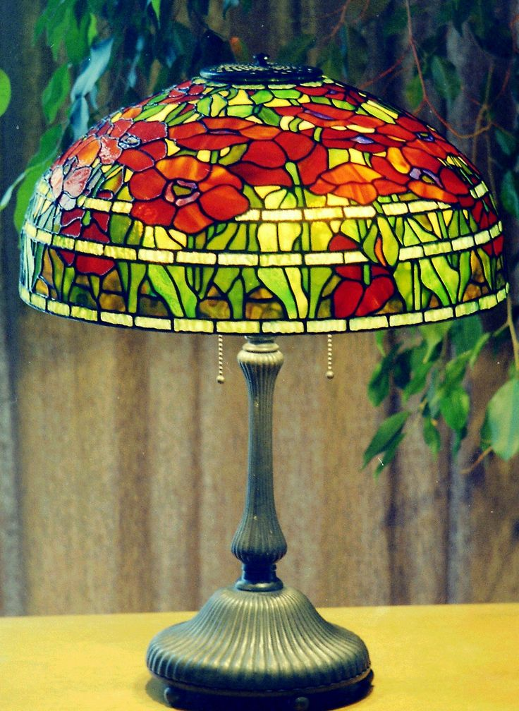 101 Best Images About Oriental Poppy Lamp On Pinterest Studios Leatherhead And Tiffany Lamps