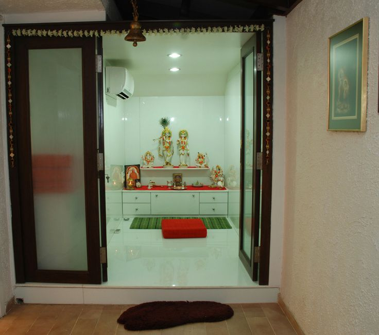 The 25+ best Puja room ideas on Pinterest | Krishna mandir, Indian ...
