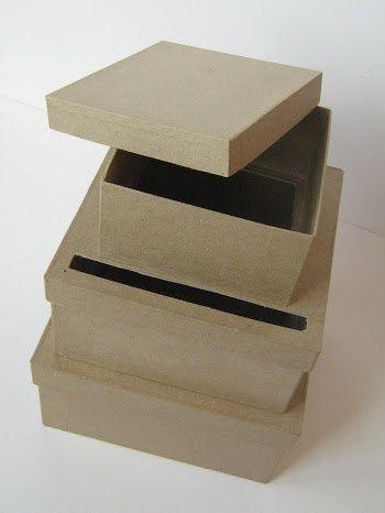 DIY Wedding Card Box Unfinished 3  tier card Box by LCDDeStash, $15.99