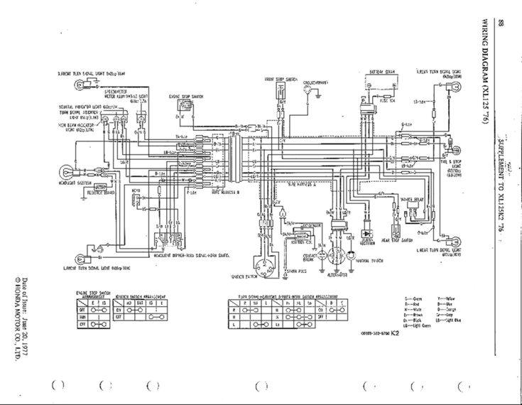 Honda Xl125 Ct125 Usa Wiring Diagram