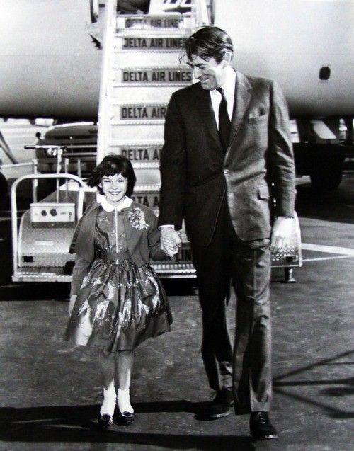 Gregory Peck  Mary Badham