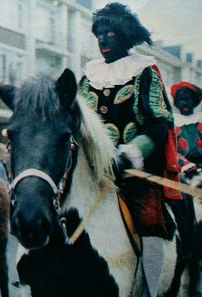 Pieten te paard, 1962 Katholieke illustratie