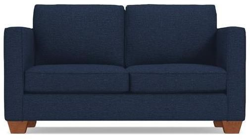 Apt2B Tuxedo Apartment Size Sofa in BLUE JEAN - CLEARANCE