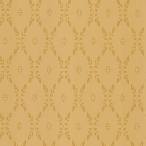 allen + roth Yellow Leaf Trellis Wallpaper