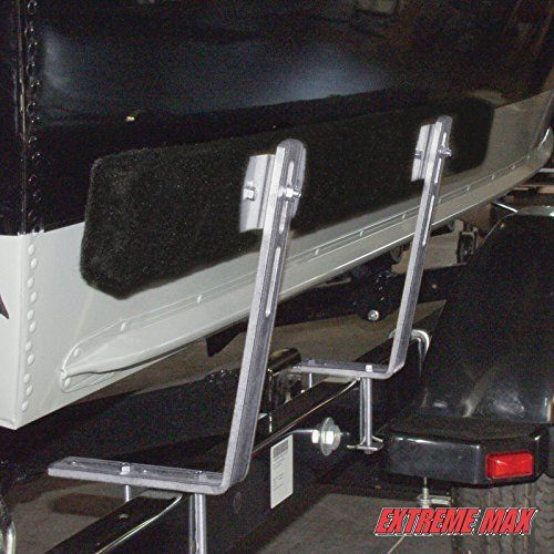 Extreme Max3005.2199 4-Feet Bunk Trailer Guide-On, Pair  Extreme Max3005.2199 4-Feet Bunk Trailer Guide-On, Pair Long days on the water shouldn't be followed by an ordeal when it's time to load your boat. Trailer guide-ons do more than help you get your boat on your trailer: they prevent a multitude of loading problems. Guide-ons keep you from loading too deep, keep your trailer position true, and are especially helpful at night. They'll help you load faster and safer, especially..
