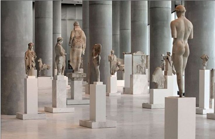 Inside the #Acropolis Museum!