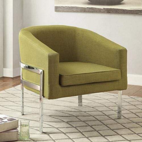 Coaster Contemporary Accent Chair Green