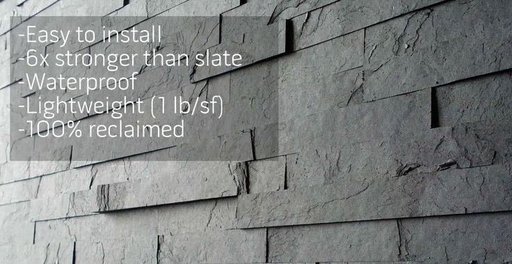 Slate-ish peel & stick tiles