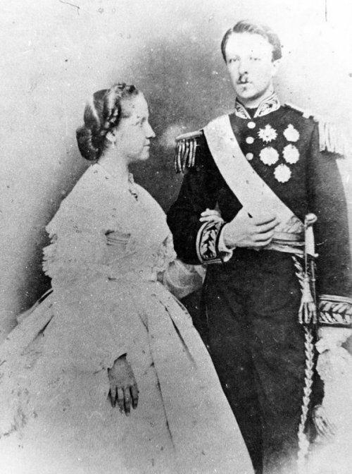 Princesa Isabel e Gaston.