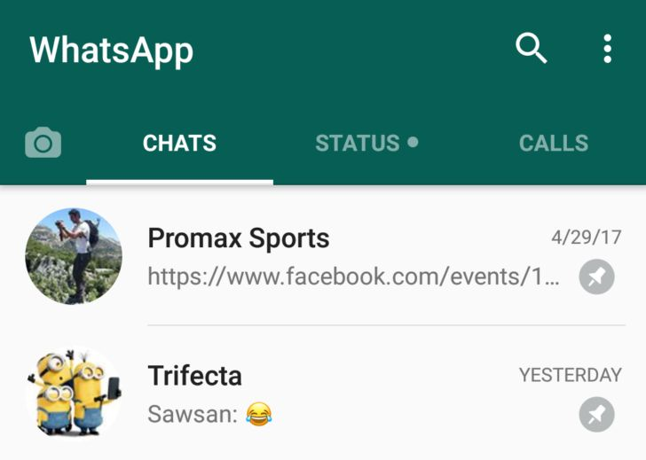 Those who use WhatsApp often will easily understand how crowded the chat lists can be sometimes. Sifting through your contact lists to get to people you ch