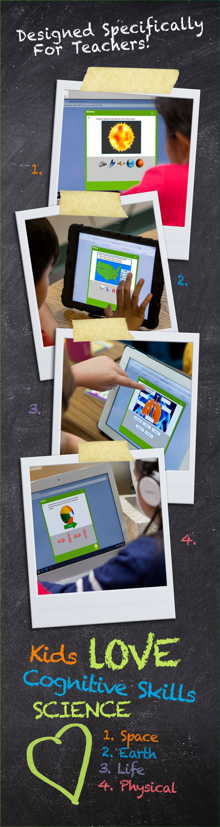 MobyMax Cognitive Skill Science for K-8 Schools - Free Touch Curriculum™ Deepens Learning Through Exploration, Reasoning and 20,000 Cognitive Skill Manipulatives. MobyMax is specifically designed for teachers.