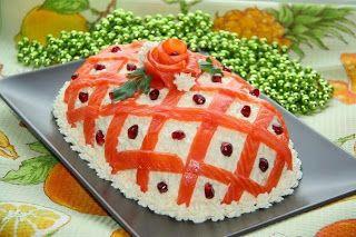 """Поварешки: Праздничный салат """"Принцесса"""""""