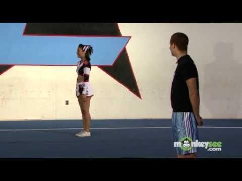 Intermediate Cheerleading Jumps